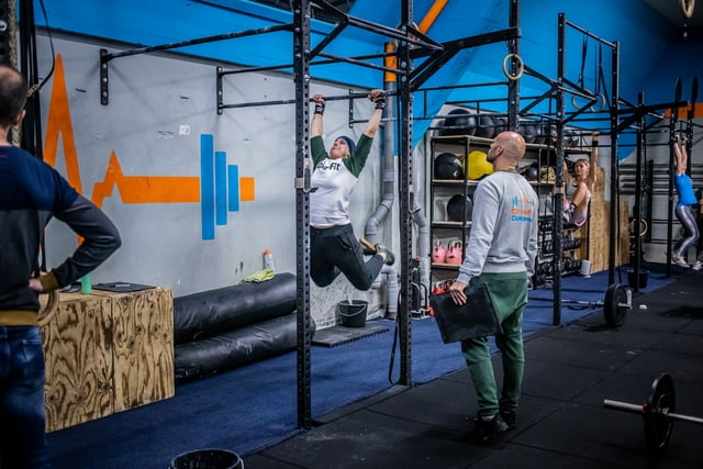 Classes Crossfit workout of the day CFC
